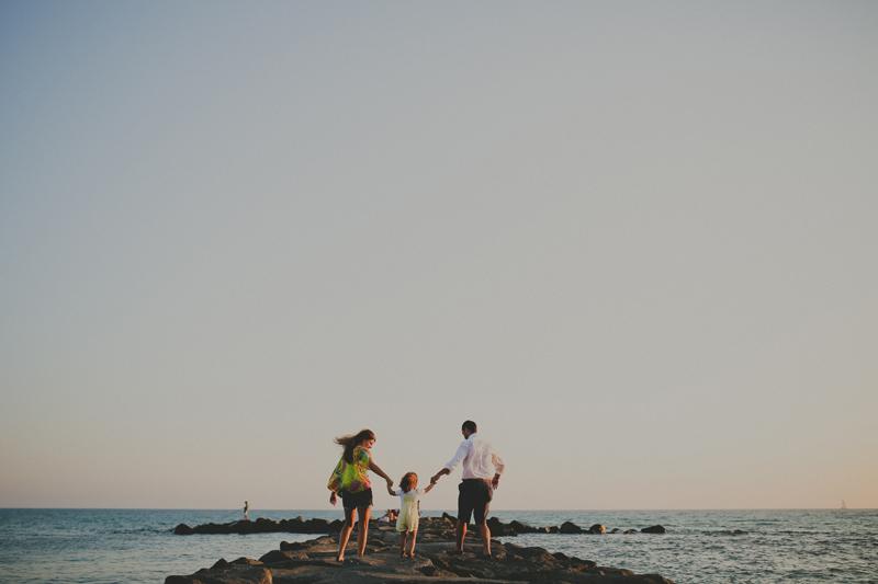 Valentina,Gaia, Chris, un pomeriggio in spiaggia..