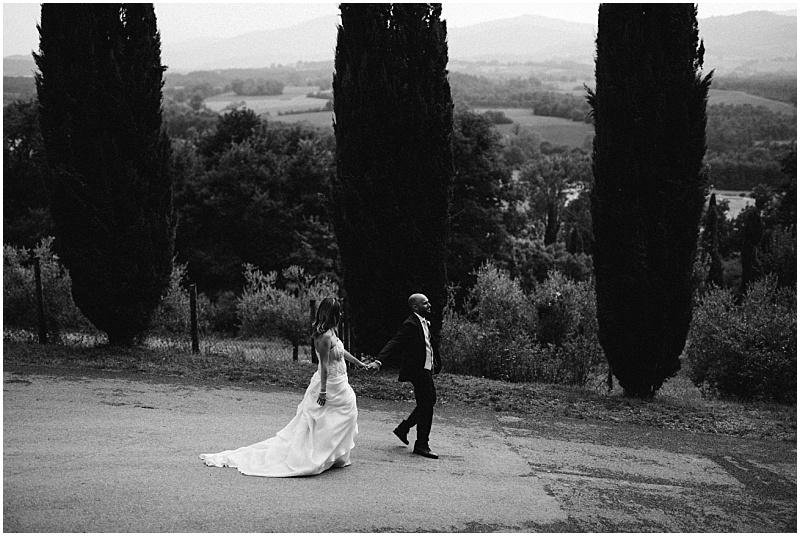 Eva e Alessio, San Galgano